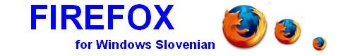 Slovenska Mozilla Slovenski Firefox